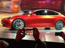 'Nieuwe Tesla vrijdag van de band'