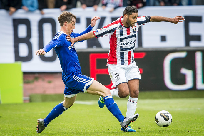 Anouar Kali is weer bij de wedstrijdselectie van Willem II.