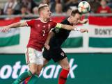 Hongarije verslaat WK-finalist Kroatië in EK-kwalificatie