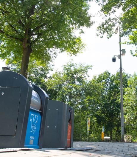Meer camera's rond Almelose afvalcontainers moeten huftergedrag tegengaan
