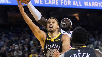 VIDEO. Stephen Curry slaat toe voor Warriors in allerlaatste seconde