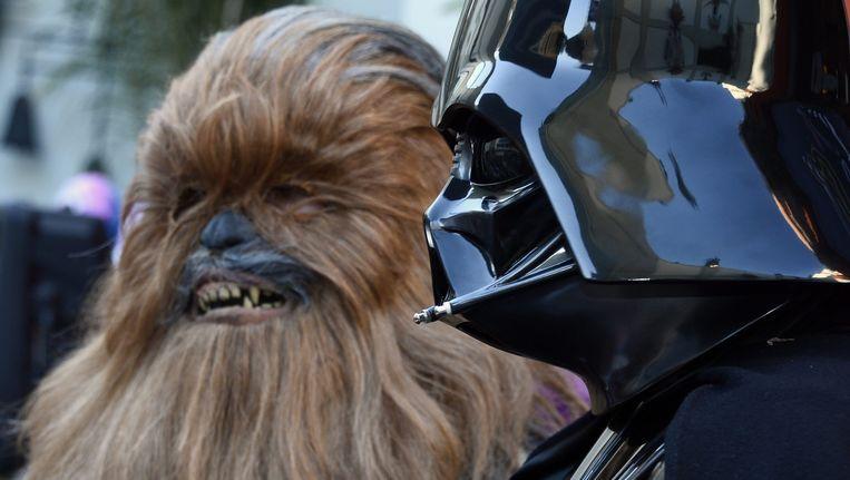 Verschillende Star Wars-acteurs komen naar Amsterdam voor het evenement. Beeld anp