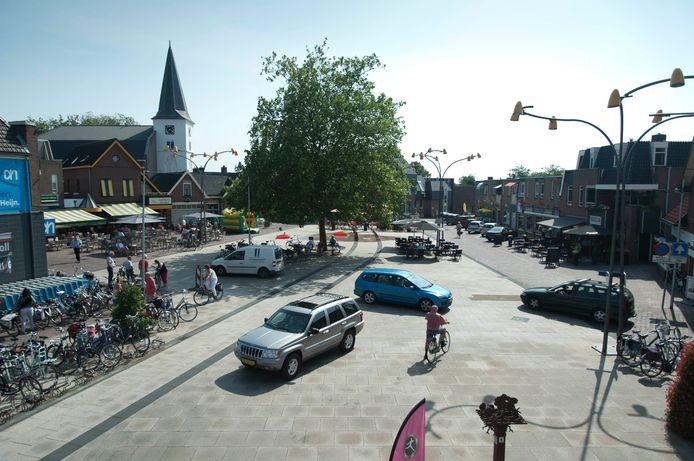 Het centrum van Holten.