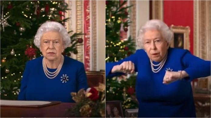 La parodie du discours d'Elizabeth II