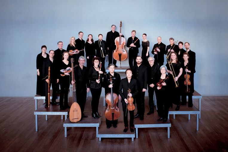 De Nederlandse Bachvereniging. Beeld Simon van Boxtel