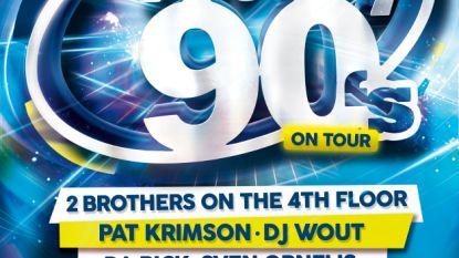 Totally 90's komt naar Berlare... en wij geven tickets weg!