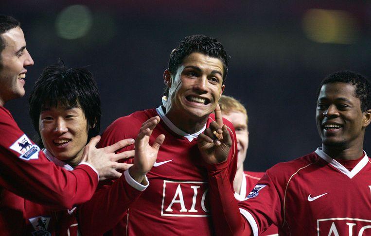 Evra en Ronaldo waren drie jaar lang ploegmaats bij Manchester United.