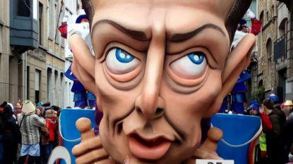 Te koop: de carnavalskop van Bart De Wever en andere politieke zwaargewichten