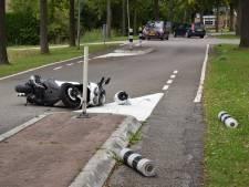 Motorrijder gewond bij aanrijding in Nieuwerkerk