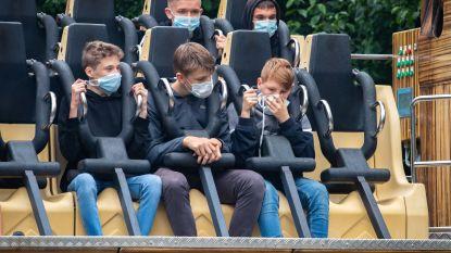 Ook pretparken verstrengen regels: wie mondmasker weigert op te zetten, vliegt eruit