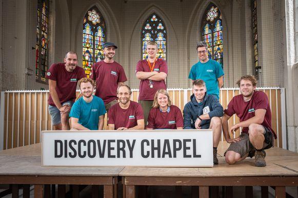 Het team achter Dioniss, in 2019