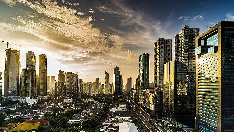 Een visualisatie van de nieuwe stad Meikarta.