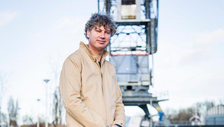 Schrijver Bas Kok Beeld Tammy van Nerum