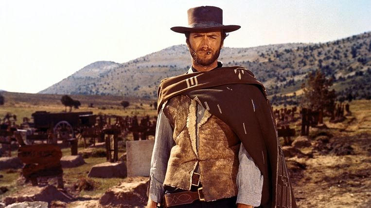 Clint Eastwood in A Fistful of Dollars Beeld