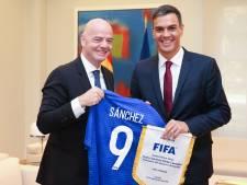 Infantino wil geen Spaanse competitieduels in Verenigde Staten