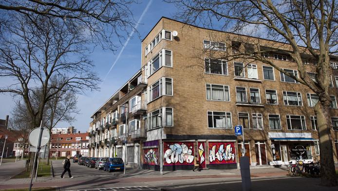 Flats in Rotterdamse Tarwewijk.