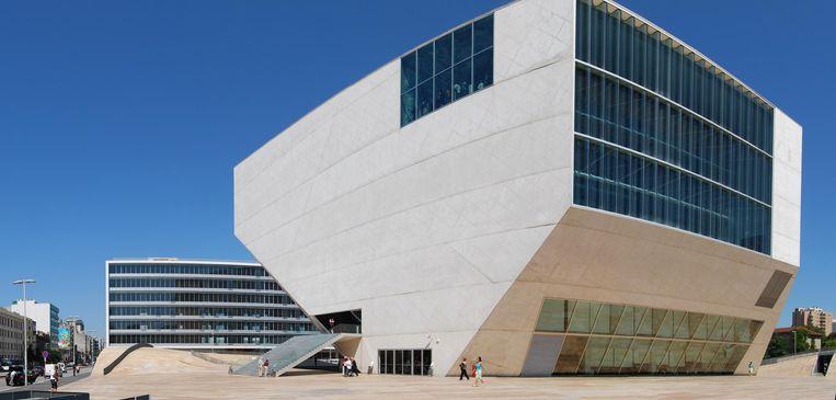 Het Casa da Música in Porto. Beeld Marinhopaiva via Wikimedia