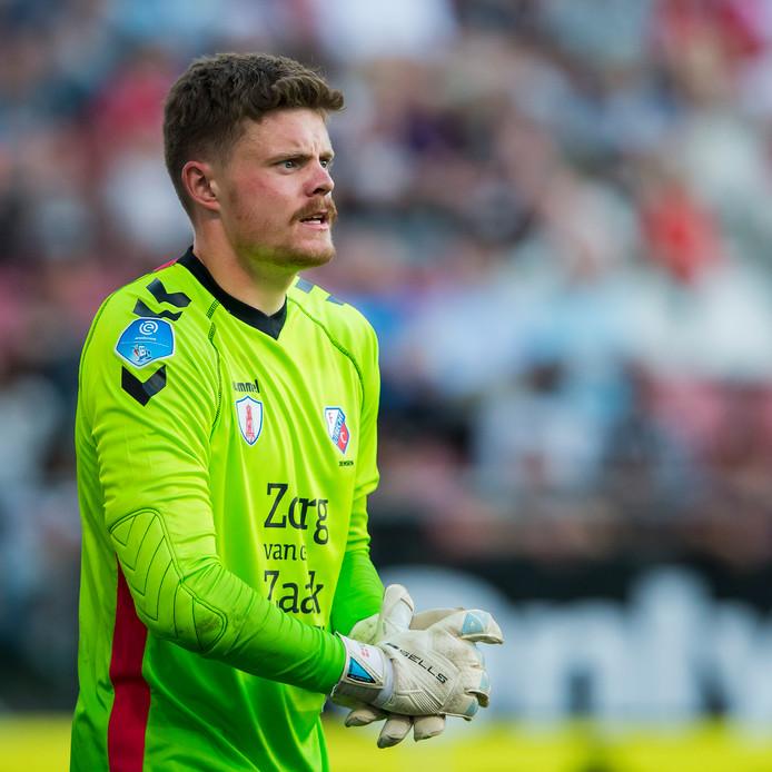 FC Utrecht keeper David Jensen