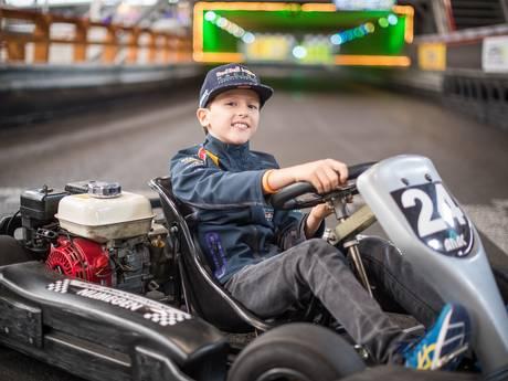 Racetalent Enzo naar halve finale in zoektocht naar jonge karttoppers