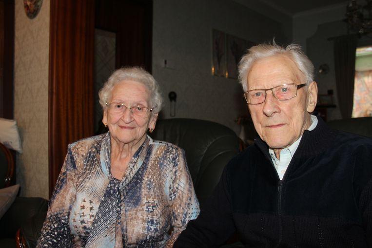 Eliane De Fraine en Frans D'Haeyer verloren hun hart aan de muziek en aan elkaar.