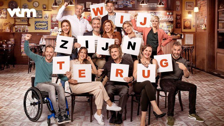 De nieuwe castfoto van 'Familie' kondigt de terugkeer van de soap aan op maandag 24 augustus.