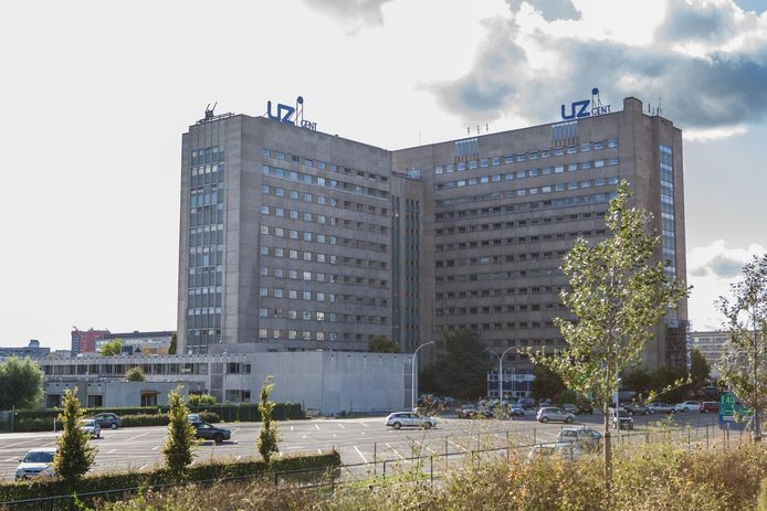 Het Universitair Ziekenhuis in Gent.