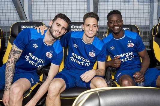 Pereiro, Arias en Isimat op de PSV-bank.