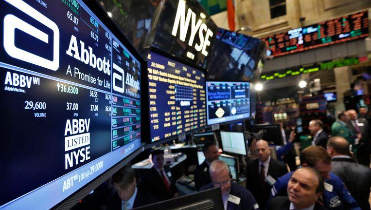 De beurs van Wall Street (archieffoto).