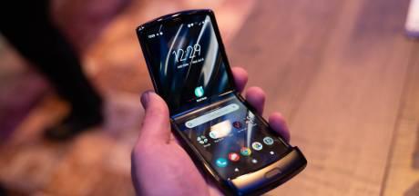 Vouwbare Motorola Razr komt over twee weken uit in VS
