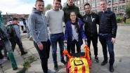 Spelers KV Mechelen tonen hart voor zieke Gaynia