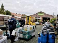 Actie tegen growshops in Tilburg levert zes 'zaken' op: pand The Grass Company doorzocht