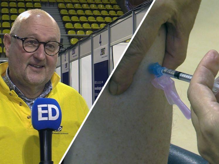 Inenting tegen corona in Eindhoven bescheiden van start: 'Per dag 400 tot 500 inentingen'