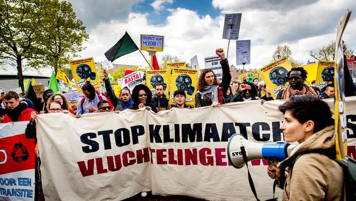 Ook in steden als New York en Londen wordt een mars gelopen.
