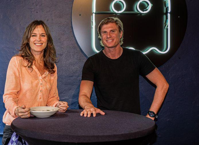 Pascale Naessens met de man achter Casper (en de Bavet-restaurants), Peter Van Praet.