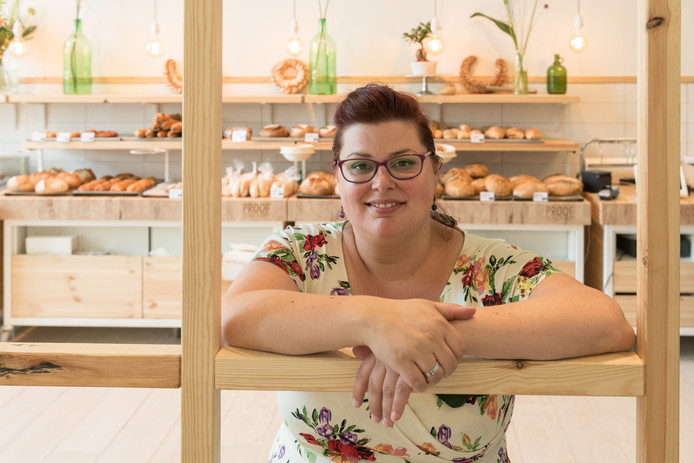 Vicky Littlejohn: ,,We willen als bakkerij in de wijk een sociale functie hebben.''