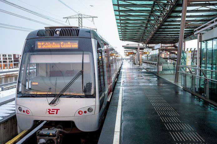 Metrostation Nesselande