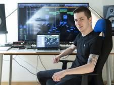 Dj Mischa Stellinga uit Eibergen: 'Online is dj-marathon een super-podium'