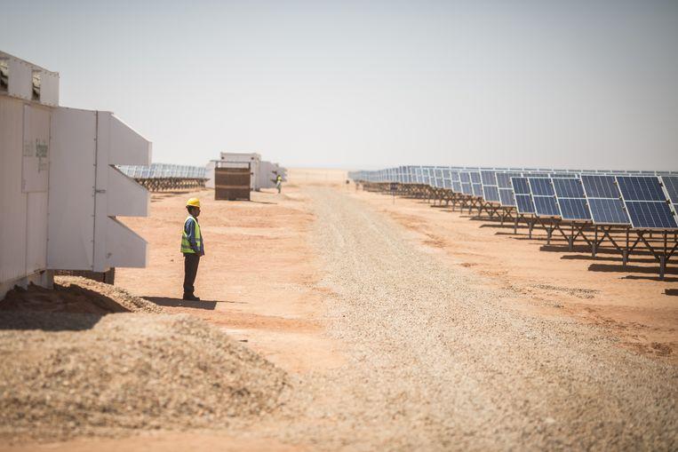 In maart werd een zonnepark geopend in Aswan, Egypte. Beeld Hollandse Hoogte