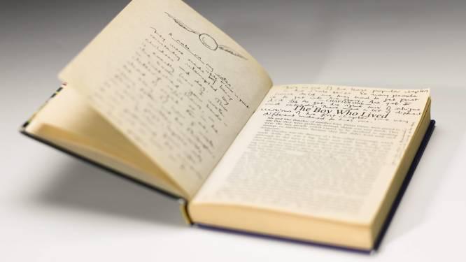 Eerste editie Harry Potter levert 66.000 euro op
