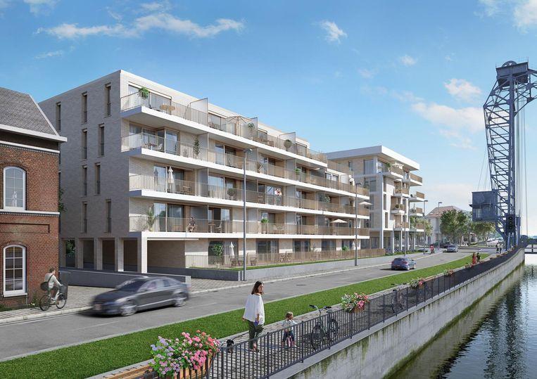 Nu nog een toekomstbeeld, binnenkort gerealiseerd: nieuwbouwproject Kanaelzicht.