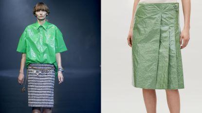 Vuilniszakken rukken op als nieuwe modetrend
