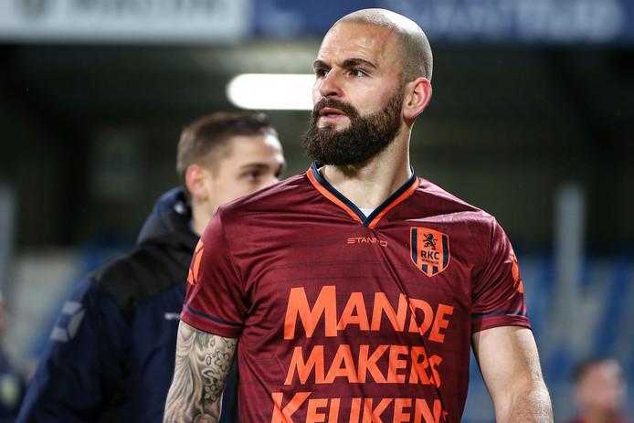 Hans Mulder kreeg rood tegen FC Den Bosch.