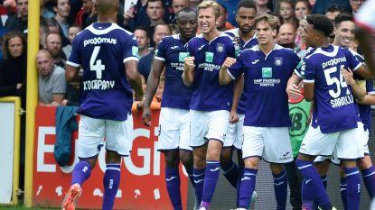 LIVE. Anderlecht duikt met verdiende voorsprong de kleedkamer in tegen kortrijk