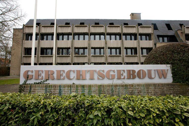 Een beeld van het gerechtsgebouw in Veurne.