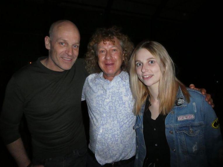 Jeroen den Hengst, Arthur Herman en Amy Heineman van Zip Records. Herman: 'Love at first hearing' Beeld Schuim