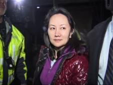 'VS zetten verzoek om uitlevering van Huawei-topvrouw door'