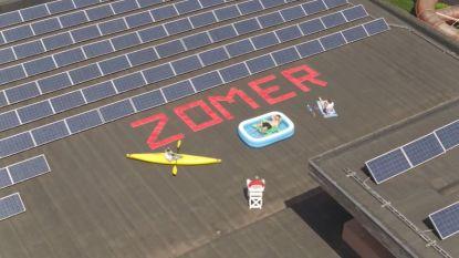 Hoe warm is het vakantiegevoel in Tielt? Drone van HLN en VTM Nieuws legt dat op vrijdag 17 juli vast