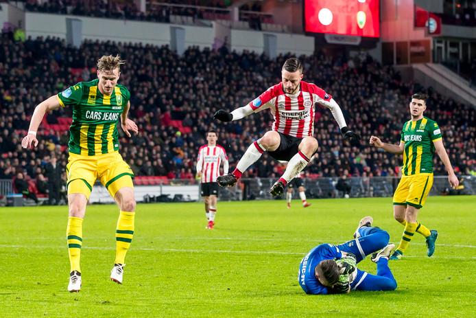 Bart Ramselaar heeft zich bij PSV terug geknokt in de basis.