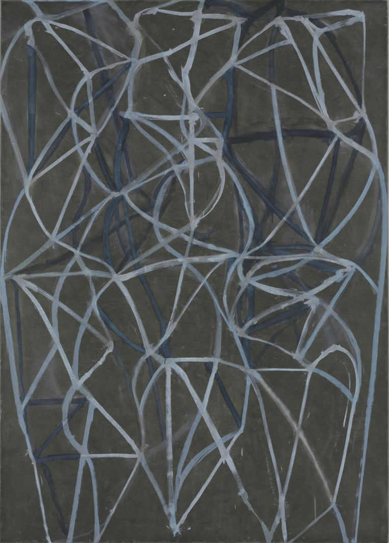 Brice Marden, '3' (1987-1988) Beeld The Baltimore Museum of Art / Brice Marden