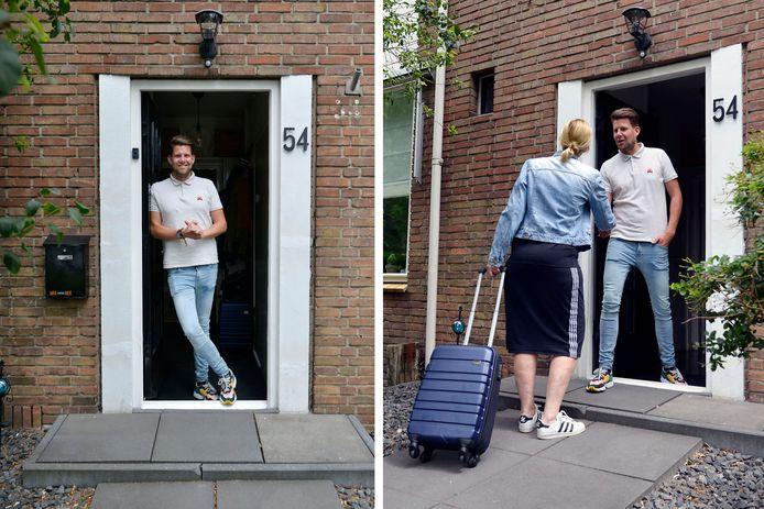 Verslaggever Joost Dijkgraaf zette zijn eigen huis op Airbnb